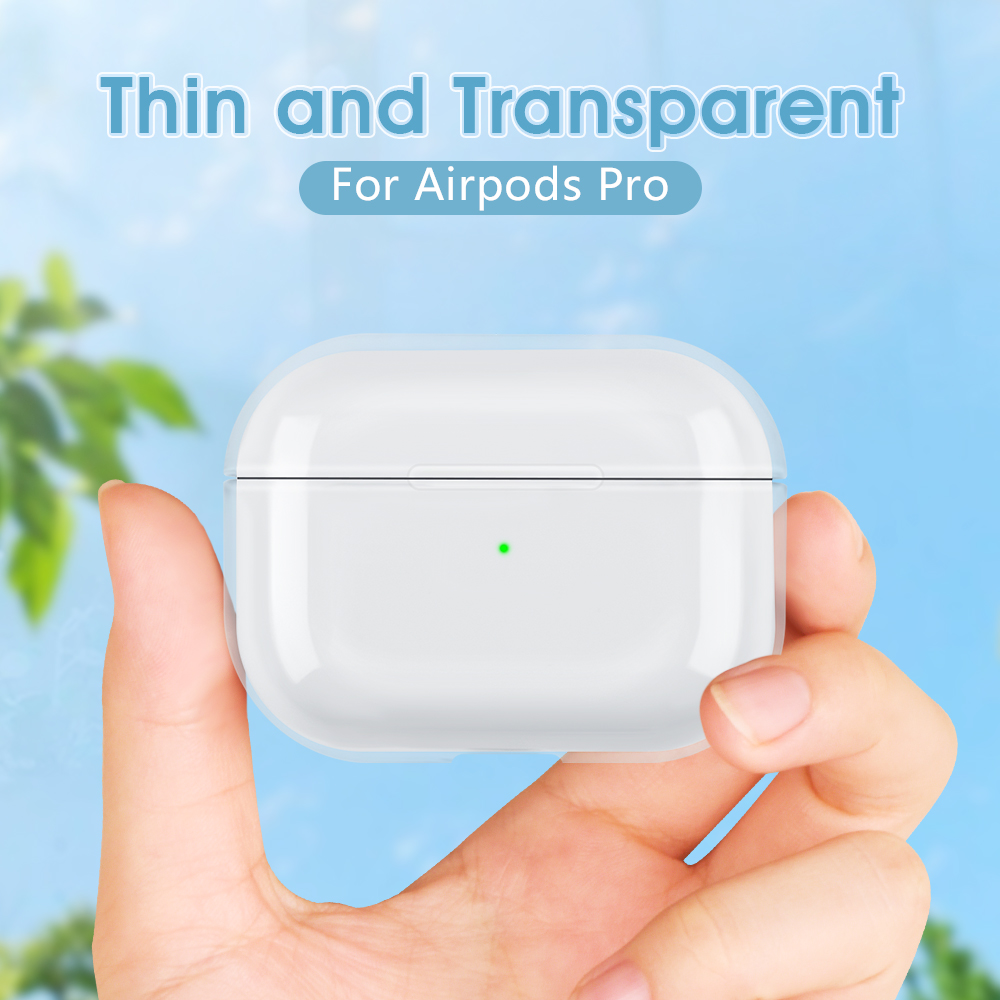 Cases For AirPods Pro Transparent Earphone Case For Apple Air Pods Pro Charging Box Hard Crystal Clear Cover For Airpods 3 Skin
