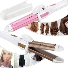 professional Hair Curling Iron Hair waver Electric Hair Curler Roller Curling Wand Ceramic Styling Tools ikv new arrival ceramic styling tools new arrival hair curling iron digital hair curler roller hair waver curling wand irons