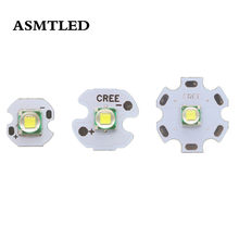 SMD 5050 CREE XML XM-T6 LED U2 1-3W 3.2 V-3.4 V Wit Hoge Kwaliteit LED Aluminium Substraat Chip Gebruik 10mm 16mm 20mm PCB(China)