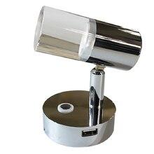 12V USB LED Motorhome ไฟโคมไฟตั้งโต๊ะแบบยืดหยุ่น Clamp แต่งหน้าโคมไฟ Home Camper Caravan RV รถบรรทุก Drived Light