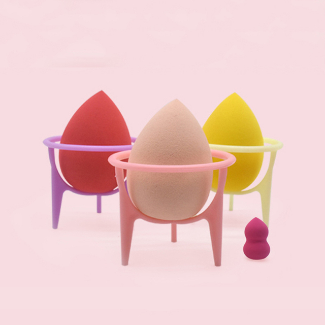 YUEMENGZI Makeup Sponge Holder Bracket Multi-color Makeup Beauty Egg Drying Stand Storage Wholesale Low Price 6