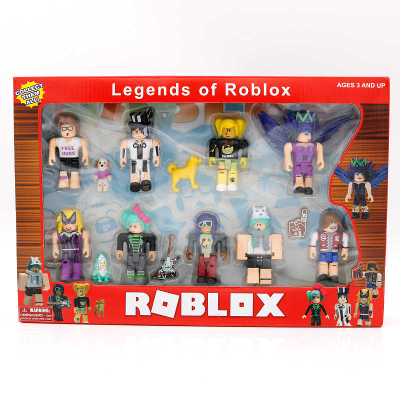 ROBLOX World Nine Figure Pack 7cm 모델 인형 소년 어린이 장난감 jugetes 인형 컬렉션 Figuras Christmas Gifts for Kids