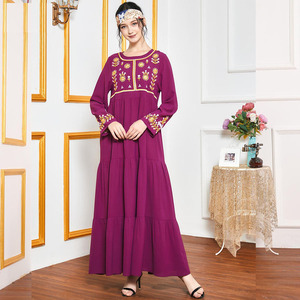 Abaya Dubai Kaftan Turkish Caftan Moroccan Abayas Muslim Women Hijab Dress Ethnic Embroidery Party Gown Jilbab Islamic Clothing