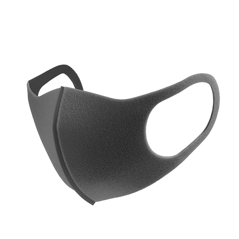 Simple 1 Pack 3 PITTA Mask Simple Mask Unisex Black Riding Dust-proof Breathable Mask