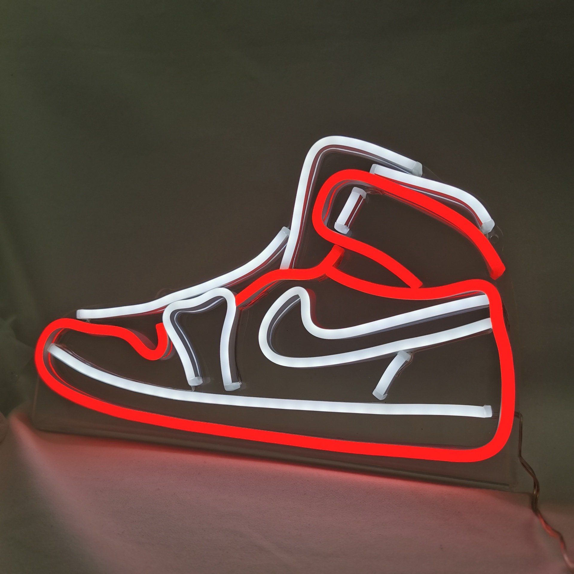 Подарок на день рождения для ботинки бойфренд неоновый светильник светодиодный гибкий неоновый светильник с указательной надписью Диспле...