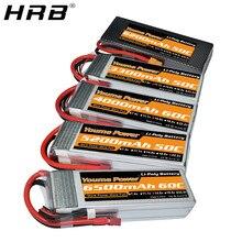 Youme 3S 11.1V Lipo Battery 3300mah 4000mah 2S 7.4V 5200mah 6200mah 4S 14.8V 6S 22.2V 6500mah T Deans XT60 Hard Case RC Parts