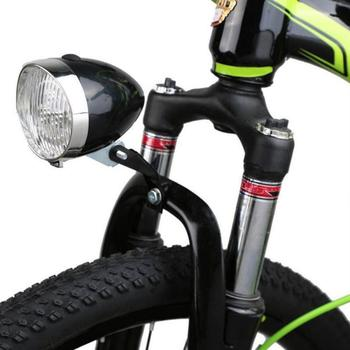 MTB Bike Retro Lamp Vintage Bicycle Accessories Plastics Speed Tail Lights Waterproof Car Bright Cycling LED Headlight Dropship image