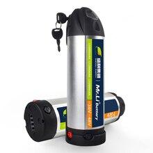 Аккумулятор 36V литиевая аккумулятор 48V аккумулятор бутылки с водой Аккумулятор для е-байка для мотор для центрального движения Наборы преобразователя для электрического велосипеда с сертификатом ce комплект батарей