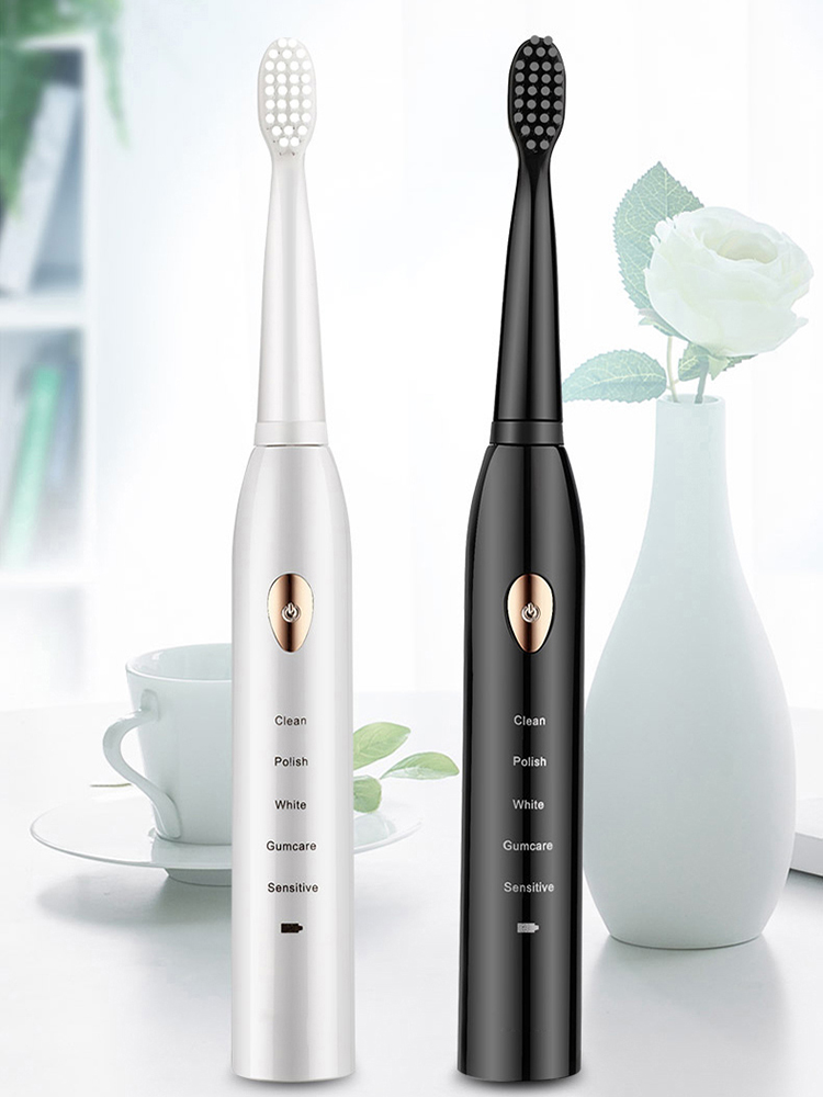Sonic Electric Toothbrush Whitening Washable Adult