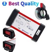New 2017.R3/2016.R0 Multidiag pro+ Bluetooth USB Car Trucks OBDII Diagnostic Tool VD DS150E CDP new relays repair Scanner tool
