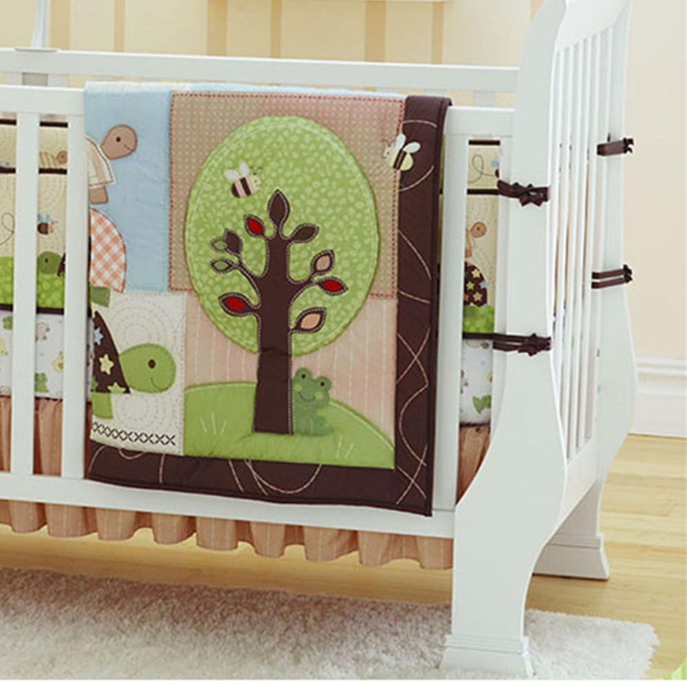 Bed Set 100 Cotton Crib Bedding