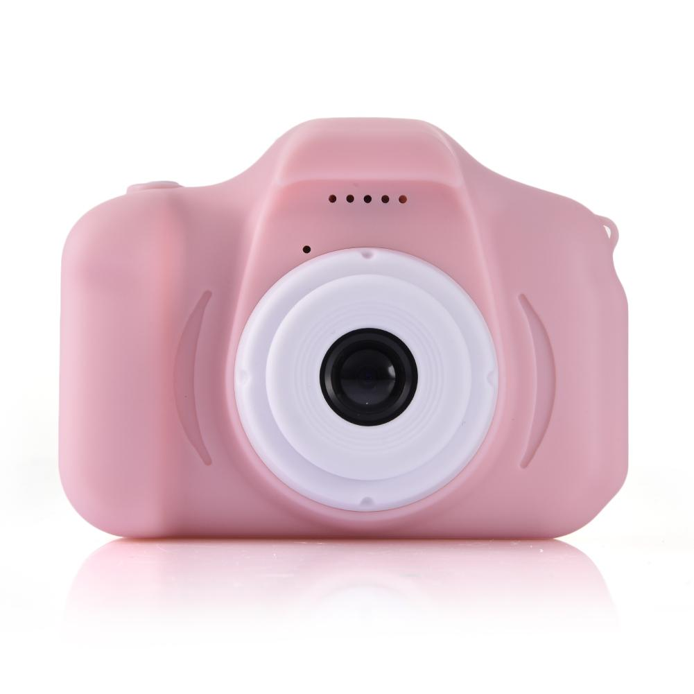 Digital Childs Camera C3 Pig Mini Kid Camera Children 4x Zoom SLR Toy Camera Children's Educational Toys Double Lens Mini Camera