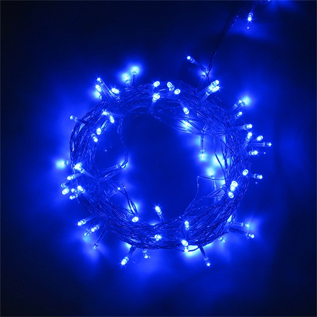 300 LED 32M Blue String Fairy Lights 8 Modes Party Christmas Garden IP44