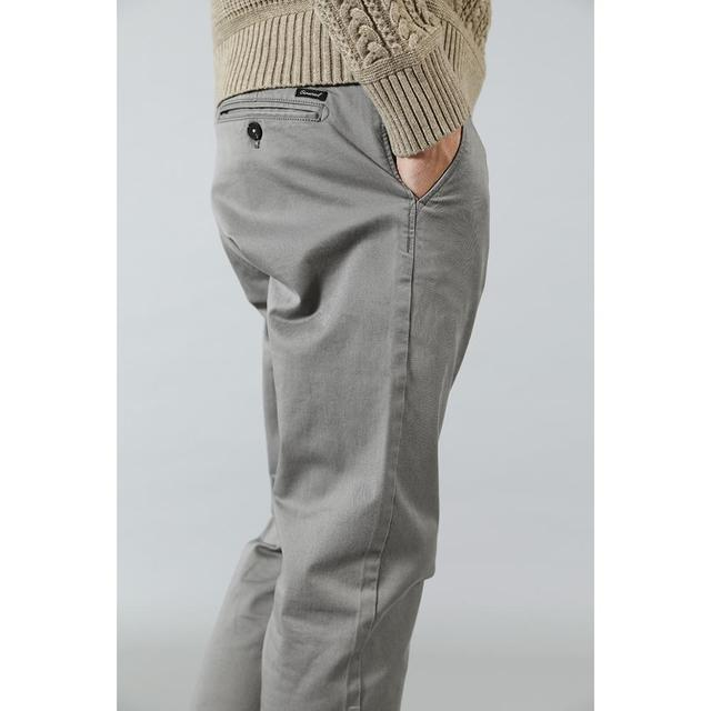 New Casual Cotton Slim Fit Chinos Fashion Trousers Male Brand Clothing Plus Size 3