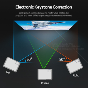 Image 3 - AUN Full HD LED projektör AKEY6