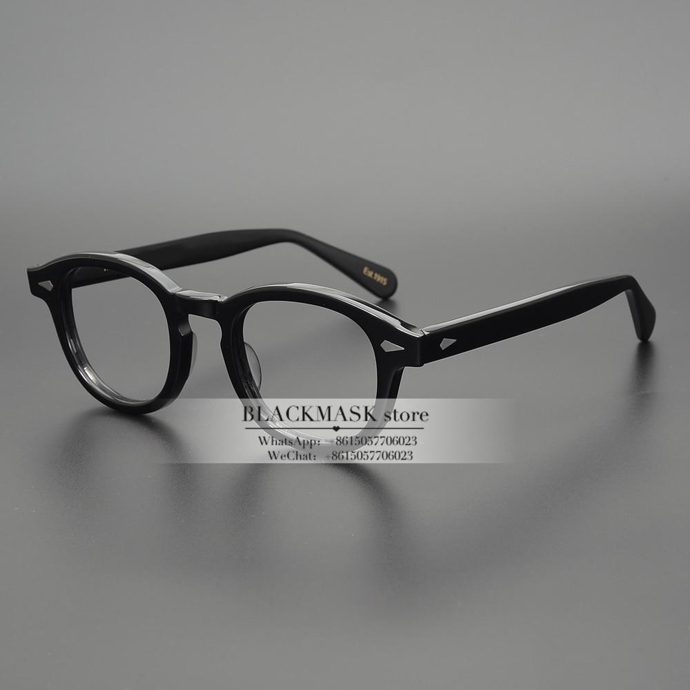 Vintage Round Optical Frames Johnny Depp Glasses Optical Frames Brand Round Eyeglasses Frame Lemtosh Spectacle Prescription Lens