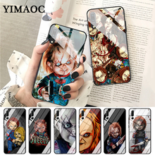 YIMAOC Charles Lee Ray Chucky Doll Glass Case for Huawei P10 lite P20 Pro P30 P Smart honor 7A 8X 9 10 Y6 Mate 20