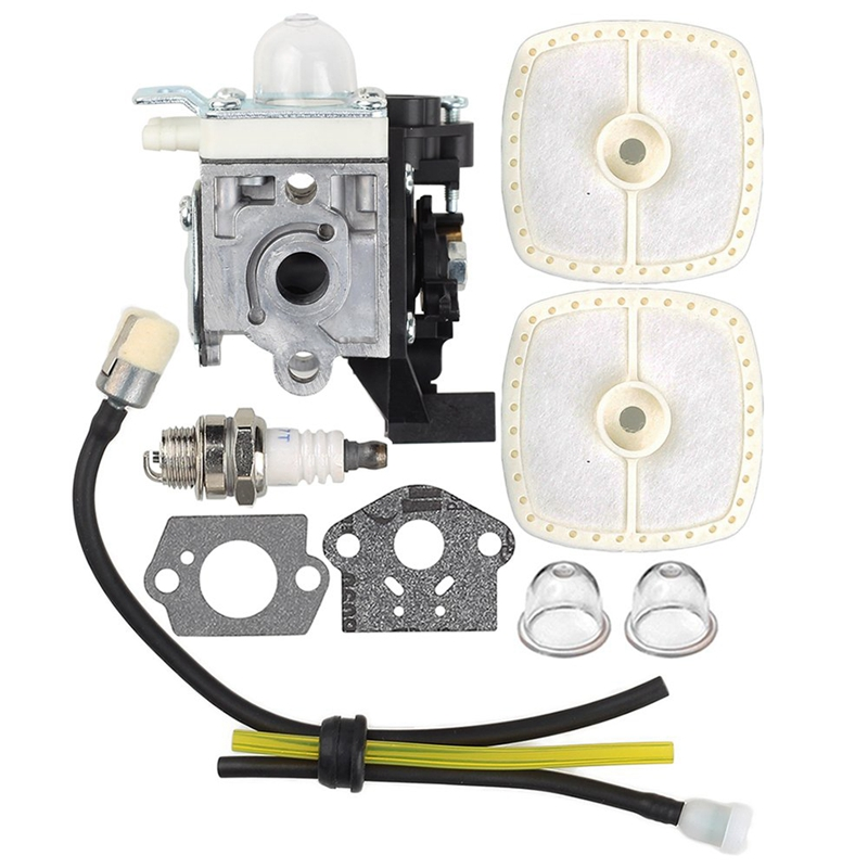 RB-K93 Carburetor With Air Filter Tune Up Kit For Echo SRM225 SRM225i SRM225U SRM225SB GT225 GT225i GT225L GT225SF PAS225 PE225