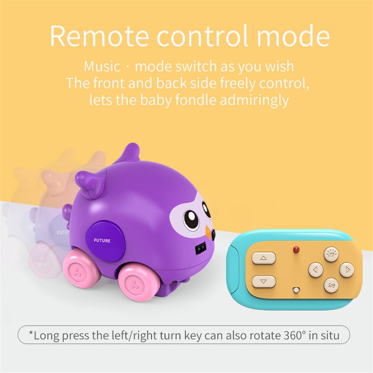 recarregável controle remoto eletrônico carro inteligente robô crianças brinquedos