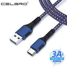 0.25/1/2/3 medidores de carga rápida qc 3.0 tipo c cabo de carregador cabo tipo c typec para xiaomi mi 10 11 poco m3 longo usb-c cabo qc3.0