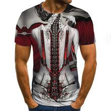 Fashion Men's Short Sleeve 3d T-shirt Shirt 3d T-shirt Men's Fun T-shirt Men's Casual Hip hop Fitness T-shirt