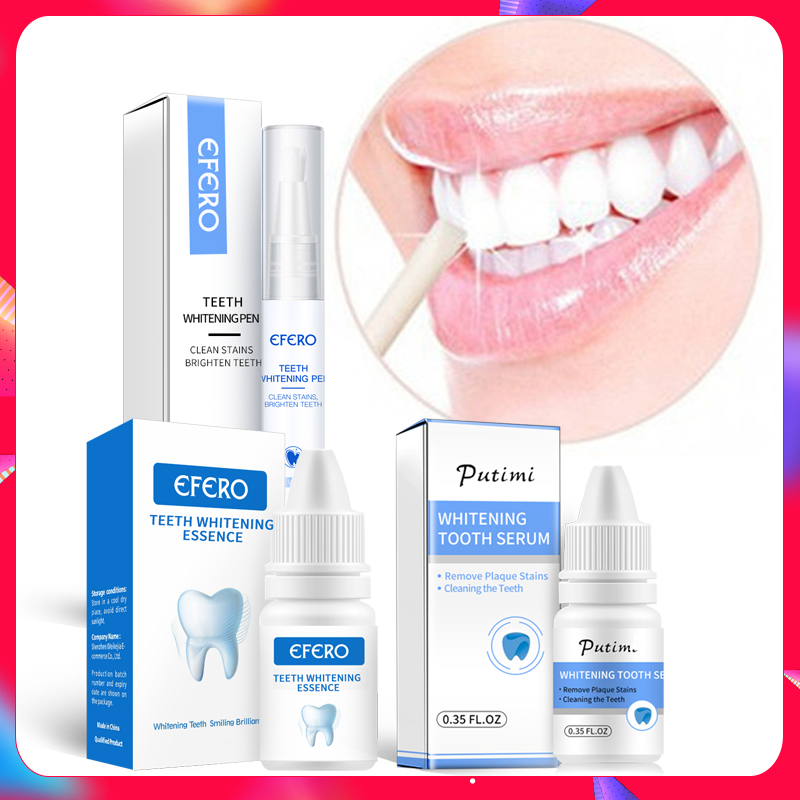 Teeth Whitening Essence Oral Cleansing Oral Hygiene Serum Removes Plaque Stains Dental Tools Teeth Whitening Pen Cleaning Serum