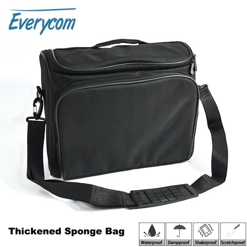 Аксессуары для проекторов Everycom, прочная многофункциональная черная сумка для Xgimi h1 h2 yg300 yg400 c80 jmgo GP70 uc46, аксессуары