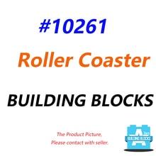IN STOCK Roller Coaster building blocks 10261 with MOTOR LIGHTING