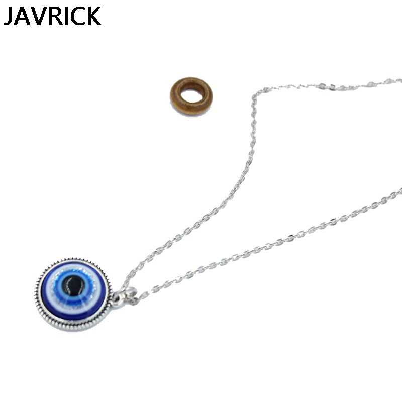 Evil Eye Pendant Necklace Amulet Lucky
