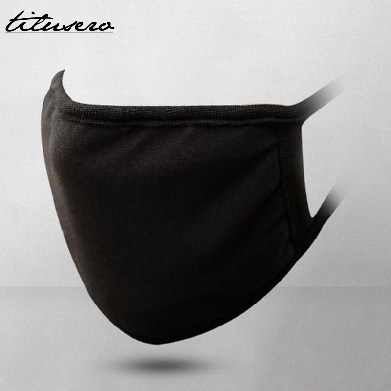 Unisex Winter Warm Anti-Dust Soft Cotton Mouth /& Nose Cover Half Face Mask Z