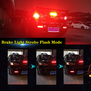 Image 5 - Ijdm Full Led Bumper Reflector Verlichting Voor Mitsubishi Lancer Evo X Outlander, Voor Remlicht/, knipperlichten & Mistachterlichten
