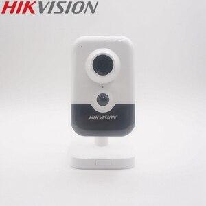 Hikvision novo modelo DS-2CD2443G0-IW substituir DS-2CD2442FWD-IW 4mp ir cubo câmera ip poe built-in mic & alto-falante hik-conectar