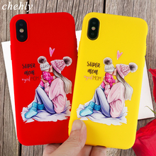 Cute Phone Case for iPhone X XR XS Max 8 7 6 S Plus 11 Pro MAX Fashion Cases Soft Silicone Fitted Mobile Accessories Cover