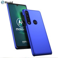 Funda rígida mate para Motorola Moto G8 Plus G7 Power G6 G5 G5s E6 Play E5 E4, carcasa trasera para Moto Z4 Z3 Z2 Force Play