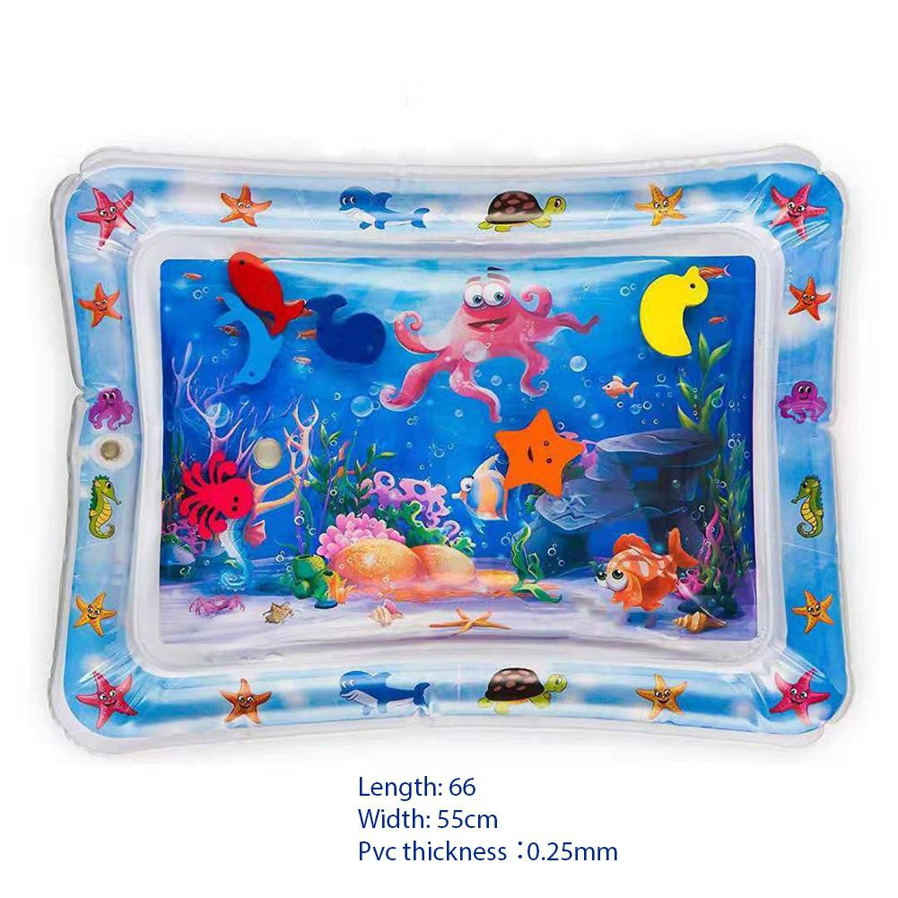 Kid Summer Inflatable Water Mat For Babies Safety Cushion Ice Mat Early Education Toys Play