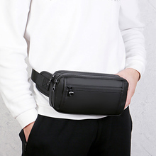 Waterproof Man Waist Bag Fashion Fanny Pack Chest Pack Outdoor Run Crossbody Bags Large Capacity Movement Belt Bags Waist Packs