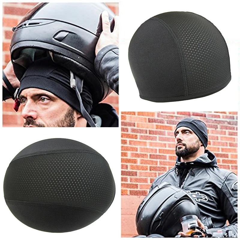 Motorcycle Helmet Inner Cap Hat Quick Dry Breathable Cap Under Helmet Beanie