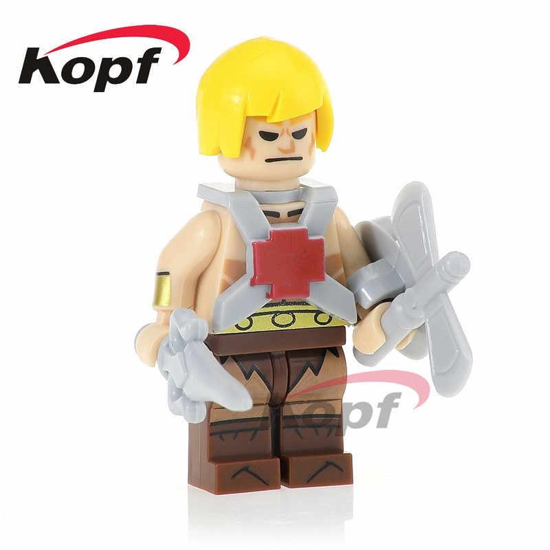 Pg1101строительные блоки кирпичи он-мен Супер Герои хеман Ske Letor Zodak TRI-KLOPS Куклы Фигурки для детей подарок игрушки