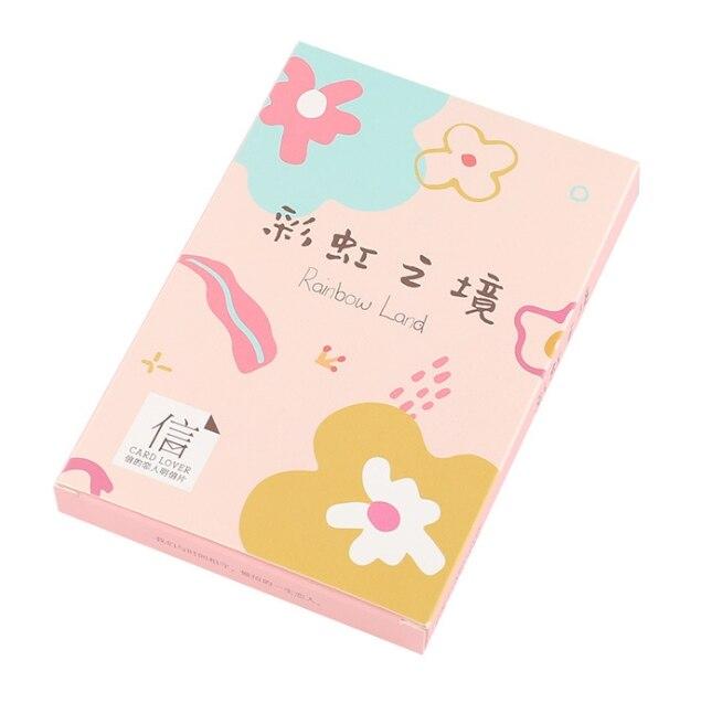M10- Rainbow Place Paper Postcard(1pack=30pieces)