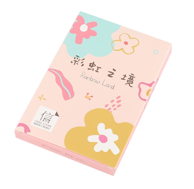 Rainbow Place Paper Postcard(1pack=30pieces)
