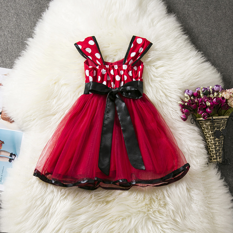 H2844ed8ebb864ababdc5a2bf5018cf70e Lace Little Princess Dresses Summer Solid Sleeveless Tulle Tutu Dresses For Girls 2 3 4 5 6 Years Clothes Party Pageant Vestidos