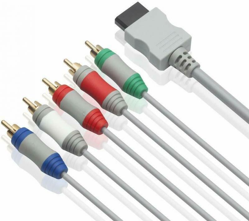 6FT компонент высокой четкости 1080P HDTV AV аудио адаптер кабель провод 5RCA линии для Nintendo Wii/Nintendo Wi I U консоль
