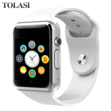 Bluetooth A1 Smart Watch Sport Wristwatch Support 2G SIM TF Camera Smartwatch For Android Phone PK GT08 DZ09 Q18 Y1 V8 цена