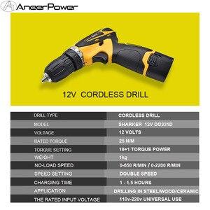 Image 4 - 12V léger Mini batterie tournevis sans fil main perceuse électrique maison bricolage outils électriques forage vis de montage de haute qualité