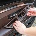 Автомобильная стильная Дверная панель подлокотника Защитная крышка наклейки для BMW 5 серии f10 f18 стеклоподъемные кнопки аксессуары для инте...