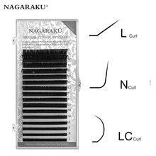 Eyelash-Extension False-Lash NAGARAKU Curl Natural Special Mixed Lc-N Soft And L-N-M