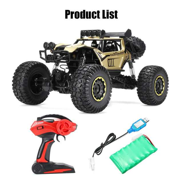 1:8 50cm RC Car 2.4G Radio Control 4WD Off-road Electric Vehicle Monster Buggy Remote Control Car Gift Toys For Children Boys 6