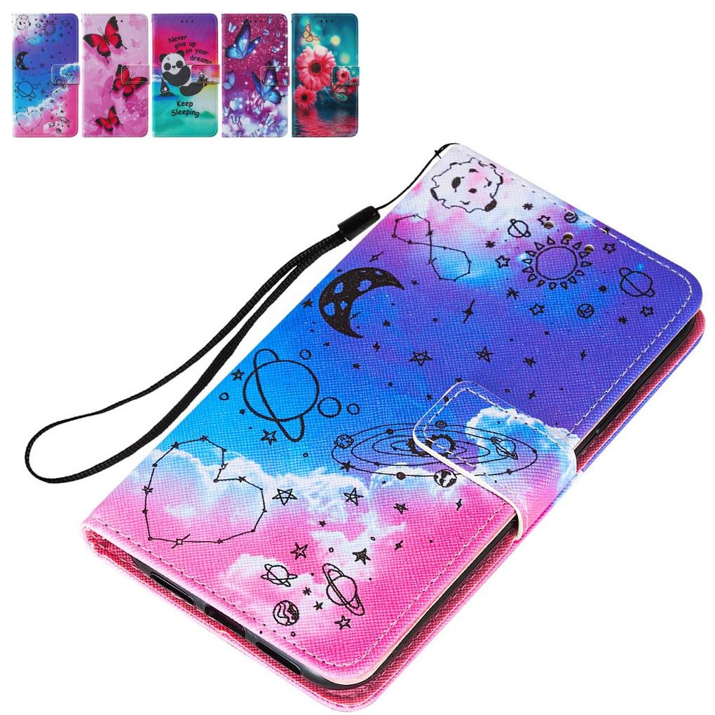 Cute Etui Floral Flip Cover For iPhone 12 2020 11 Pro Capa For iPhone SE 2020 XR X XS Max Wallet Case For ipod touch 7 6 5 DP03E