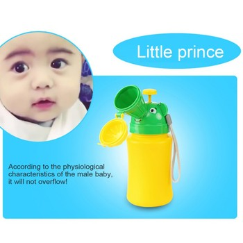 Baby Boy Travel Urinal Pot PP Smooth Odorless Useful Reusable Portable Toilet Training Travel Urinal Potty 2