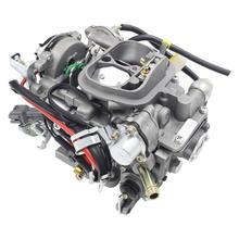 Carburador para toyota 22r motores 2.4l 1981-1988 hilux, 1984-1988, 4 corredores, substituição do número de peça oem 21100-35520 choque elétrico